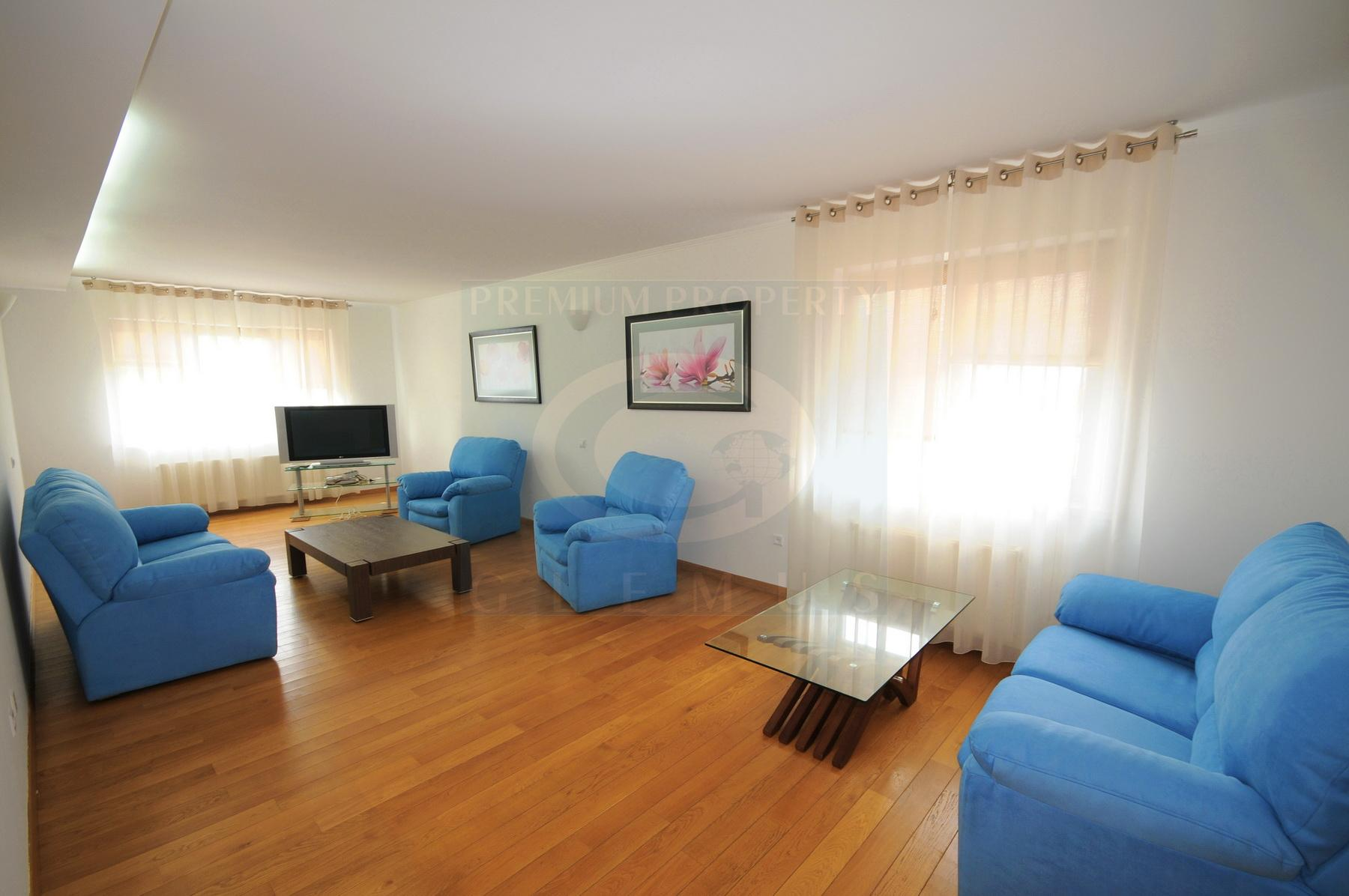 Very large two-bedroom apartment near the Consulate or Romania